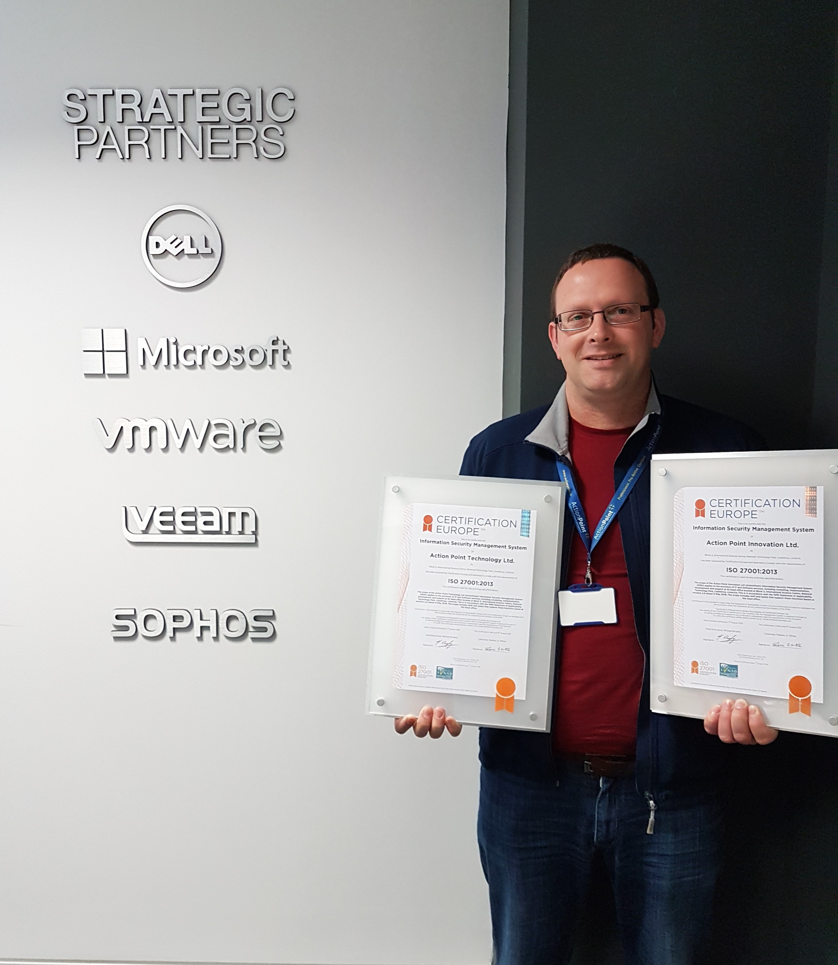Actionpoint Achieves Iso 270012013 Certification