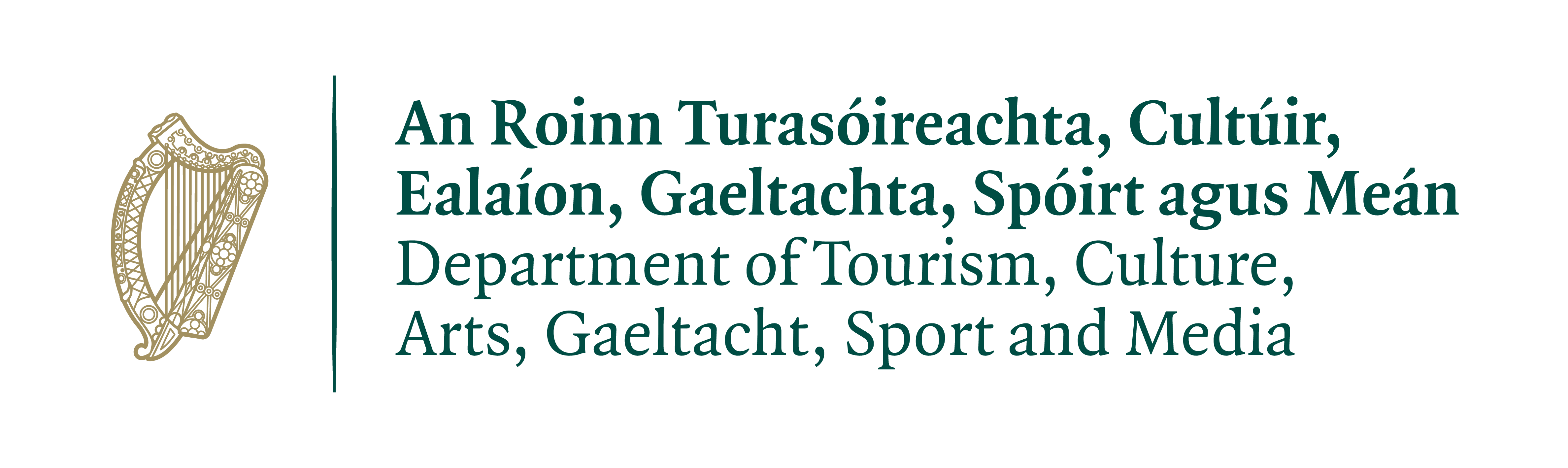 Department of Tourism, Culture, Arts, Gaeltacht, Sport and Media Logo